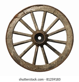Old wheel images stock photos vectors shutterstock old wheel isolated on white background publicscrutiny Choice Image