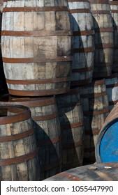 Old Whisky Barrels