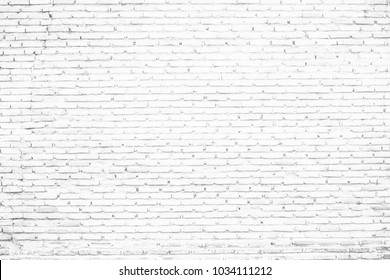 old white brick wall texture background