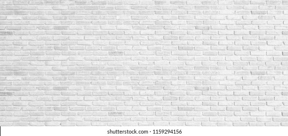 Old white brick wall texture background,brick wall texture for for interior or exterior design backdrop.