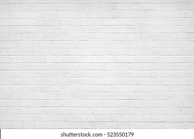 Old White Brick Wall Texture. Gray Plastered Brick Wall Background . Home House Interior Or Exterior Wall. White Wash Brickwall. Abstract White Stonewall Wallpaper. . Rustic Rough White Bricklaying.