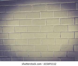 Old white bricks blocks and texture background. Closeup