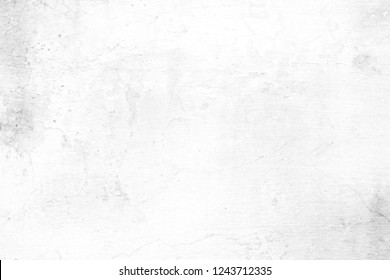 Old White Cement Wall Background.