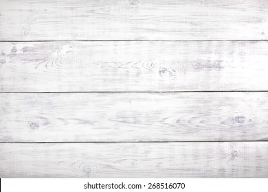 Old white rustic wood background, wooden surface with copy space