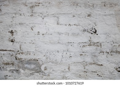 An old white stone wall