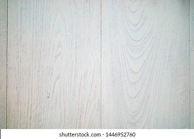 Old White teak wood surface as background.