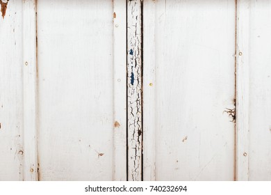 Old white Vintage wooden background with Skratches