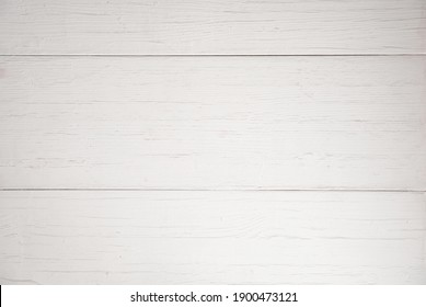 Old white wood texture top view.  Natural background.  Design for a photophone, wallpaper.