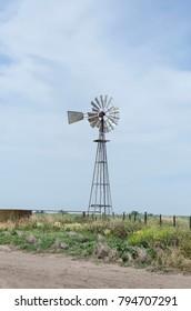 old wind generator