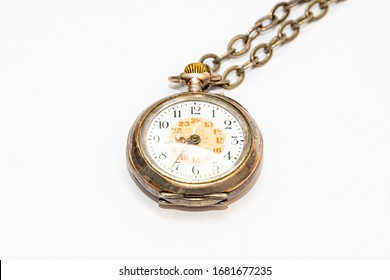 Old wind up pocket watch over hundreds of years old