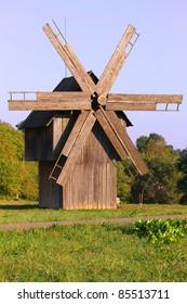 Old Windmill in Chernivtci, Ukraine