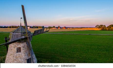 Old windmill Gotland