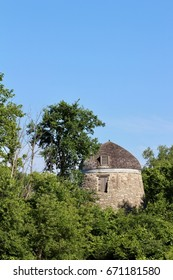 Old Windmill (Gristmill) in Wooded Setting
