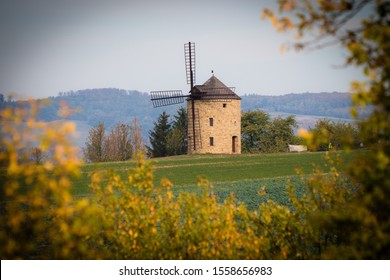 old Windmill in Moravian Tuscany