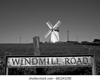 Old Windmill on Windmill Road, Ballycopeland Windmill in Northern Ireland