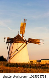 old windmill in Retz, Austria