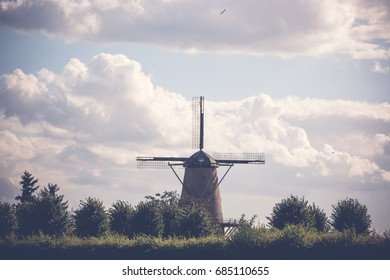Old Windmill in Xanten Germany