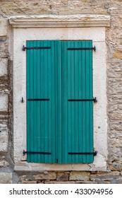 Old Window From Foca (Phocaea-Phokaia) izmir Turkey