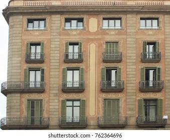 Old windows house