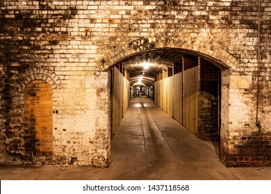 Old Wine Cellar on a Winery Tour in Victoria, Australia