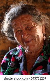 Old woman from Brazil