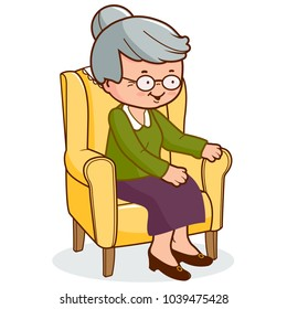 old lady cartoon images stock photos vectors shutterstock rh shutterstock com cartoon old woman in the shoe cartoon old woman falling out of chair
