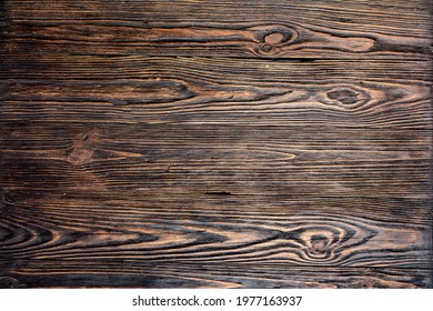 old wood background braun color - Shutterstock ID 1977163937