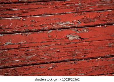 old wood background red