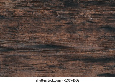 Old Wood background texture of natural wooden boards stained with age. Dark surface with old wooden pattern. Vintage wooden table.