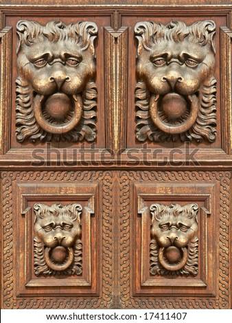 Old Wood Door Design Element Stock Photo Edit Now 17411407