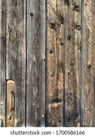 Old wood grunge texture. village fence