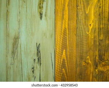 old wood and iron texture background