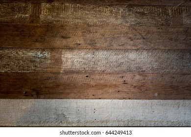 Old Wood paneling texture for background