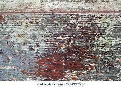 old wood peeling texture