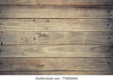 Old wood plank wall background for design and decoration