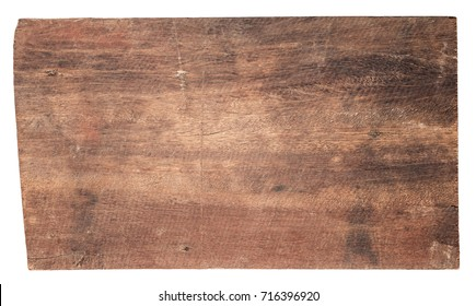 old wood planks textures isolated on white background