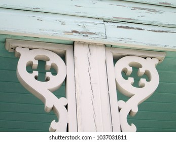 Old Wood Porch Decoration