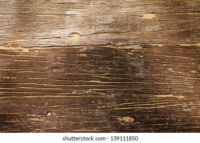 Old wood with some sand on it texture