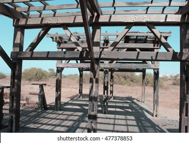old wood structure