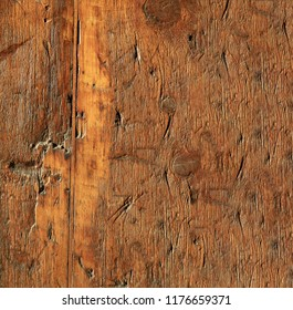 Old wood texture with cracks