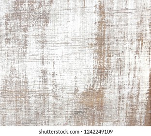 old wood texture distressed background, scratched white painted wood wall