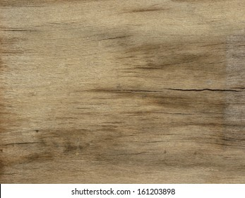 Old wood texture in various hues of brown and with several horizontal cracks.