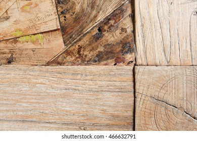 Old wood texture for web background, grunge wood panels