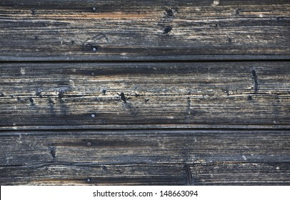 Old wood wall in a village