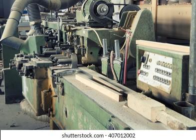 old woodcraft machine