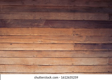 Old wooden background, wooden house wall, traditional Thai house details, Laos