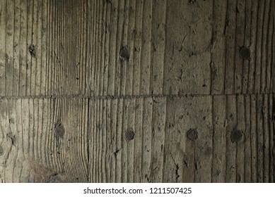 old wooden background with nails