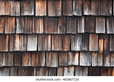 The Old wooden background with vertical tile