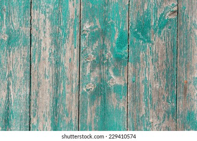 Old wooden  barn board with a distressed surface.
