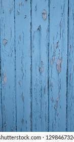 Old wooden blue background pattern